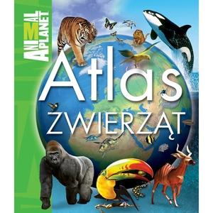 Książka Atlas Zwierząt - Egmont