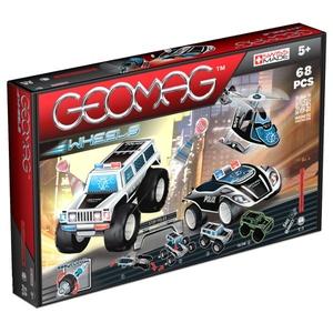 Geomag Wheels Zestaw 68 Elementów - Geomag
