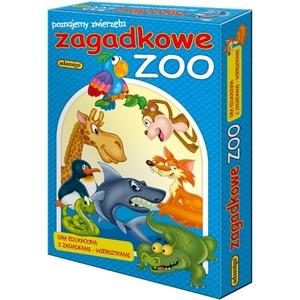 Gra Układanka Zagadkowe Zoo - Adamigo