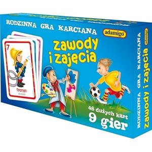 Gra Karty Snap Zawody I Zajęcia - Adamigo