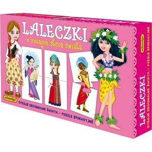 Układanka Laleczki - Adamigo
