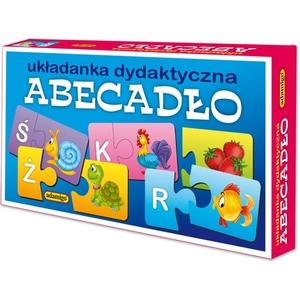 Układanka Puzzlowa Abecadło - Adamigo