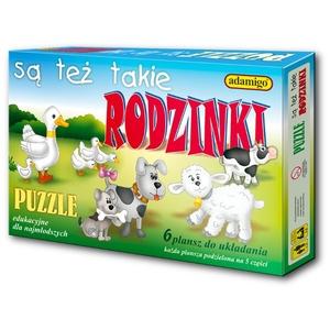 Puzzle Są Też Takie Rodzinki - Adamigo