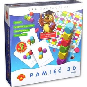 Gra Pamięć 3D Maxi - Alexander
