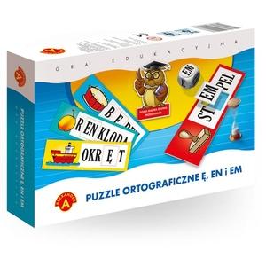 Puzzle Ortograficzne Ę, En i Em - Alexander