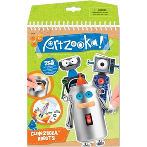 Artzooka Wyklejanka Świat Robotów - Wooky