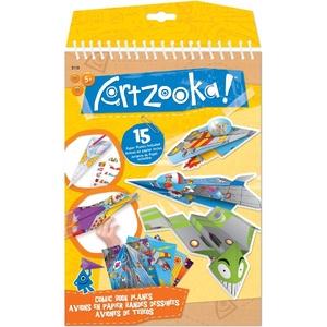 Artzooka Notes Origami Komiksowe Samoloty - Wooky