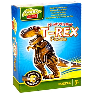 Puzzle 3D Model T-Rex - Grafix/Rms