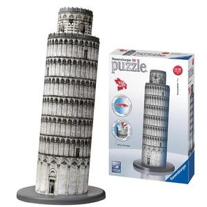 Puzzle 3D Krzywa Wieża W Pizie - Ravensburger