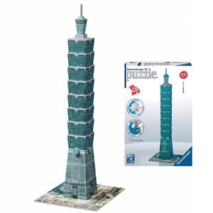 Puzzle 3D Wieżowiec Taipei - Ravensburger