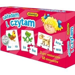 Gra Układam I Czytam - Adamigo