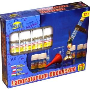 Chemik Zestaw 100 Doświadczeń - Dromader