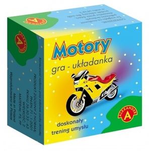 Gra Układanka Motory - Alexander