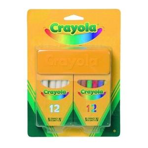 Zestaw Kredy Białej I Kolorowej - Crayola