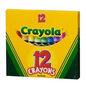 Kredki Świecowe 12 Sztuk - Crayola