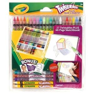Zestaw Kolorowanie I Kredki Twistables - Crayola