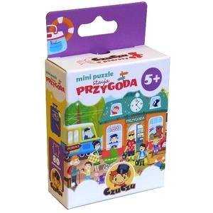 Mini Puzzle Stacja Przygoda - CzuCzu