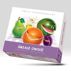Układanka Śmiałe Owoce - Jawa