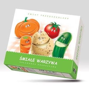 Układanka Śmiałe Warzywa - Jawa