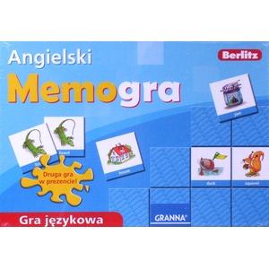 Memo Gra Językowa Angielski - Granna -