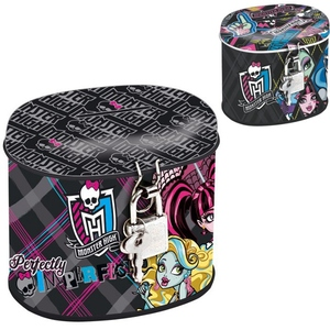 Metalowa Skarbonka Na Zamek Monster High - Starpak