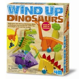 Nakręcane Dinozaury - 4M
