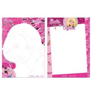 Dyplom A4 Barbie - Starpak