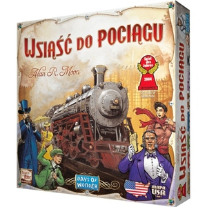 Gra Wsiąść Do Pociągu USA - REBEL