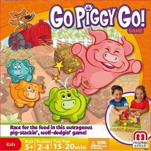 Gra Uciekające Świnki - Mattel