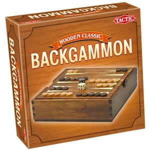Gra Wooden Classic Backgammon - Tactic