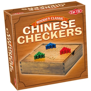 Gra Wooden Classic Chińskie Warcaby - Tactic