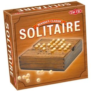 Gra Wooden Classic Solitaire - Tactic