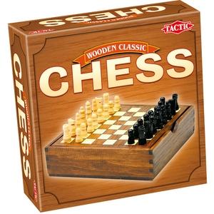 Gra Wooden Classic Szachy - Tactic