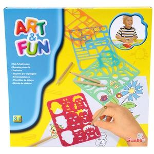 Art&Fun Zestaw Szablonów - Simba