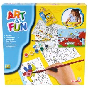 Art&Fun Malowanie Po Kolorach - Simba