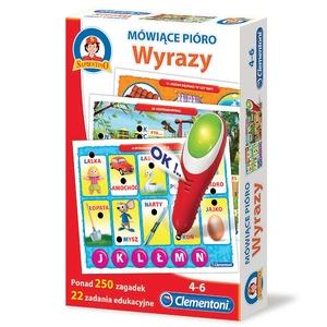 Gra Quiz Wyrazy - Clementoni