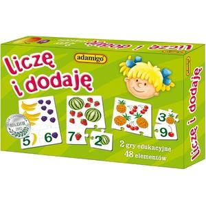 Układanka Liczę I Dodaję - Adamigo