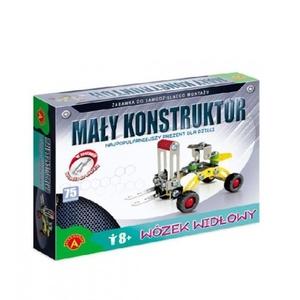 Mały Konstruktor Wózek Widłowy - Alexander
