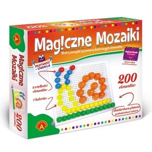 Kreatywność I Edukacja Magiczne Mozaiki 200 El. - Alexander