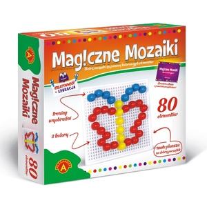 Kreatywność I Edukacja Magiczne Mozaiki 80 El. - Alexander