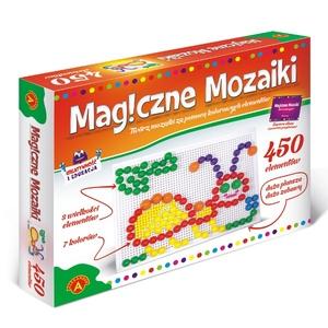 Kreatywność I Edukacja Magiczne Mozaiki 450 El. - Alexander