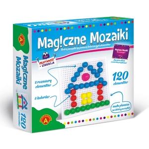 Kreatywność I Edukacja Magiczne Mozaiki 120 El. - Alexander