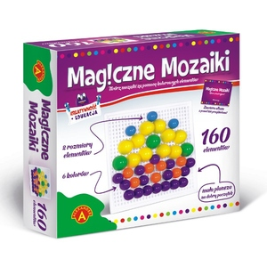 Kreatywność I Edukacja Magiczne Mozaiki 160 El. - Alexander