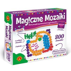 Kreatywność I Edukacja Magiczne Mozaiki 300 El. - Alexander