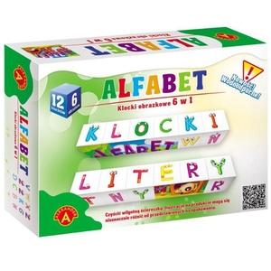 Klocki Obrazkowe Alfabet - Alexander