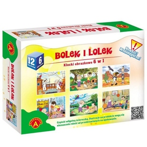 Klocki Obrazkowe Bolek I Lolek - Alexander