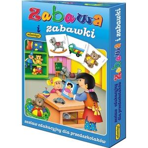 Zestaw Edukacyjny Zabawa I Zabawki - Adamigo