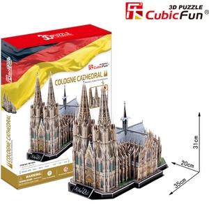 Puzzle 3D Cologne Cathedral - CubicFun