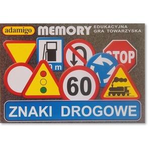 Znaki Drogowe Gra Memory - Adamigo
