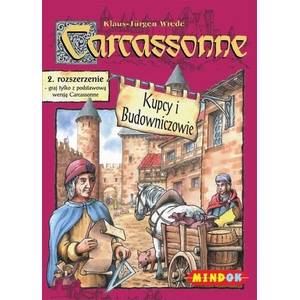 Gra Carcassonne Roz.2 Kupcy i Budowniczowie -Bard
